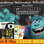 Mike & Sulley's Monstrous Halloween Activities!