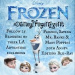 I'm Going to Los Angeles for Disney's Frozen Red Carpet Event!  #DisneyFrozenEvent