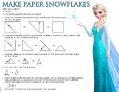 How to Make Paper Snowflakes! #DisneyFrozenEvent