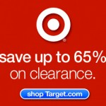 Save up to 65% on Clearance at Target!