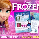 Make Your Own Frozen Princess Capes and Sister Bracelets! #Frozen #DIY