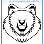 Make Your Own Bear Mask!  Free Printable!