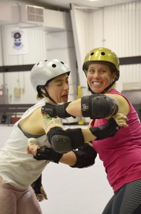 Roller Derby Means Sweaty Chicks! Secret Clinical Strength Helps!