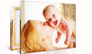 Custom Photo Canvas from Printerpix Starting at $5