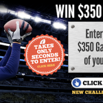 Are You Ready For Some Football?  Enter to Win $350 in FREE Gas!