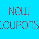 Great New Coupons!