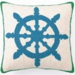 Enter to Win a Captain's Wheel Hook Pillow!