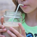 Peanut Butter and Chocolate Smoothie Yuminess and a GIVEAWAY!  #ad #TruMoo