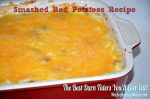 Smashed Red Potatoes Recipe #MarketStreetTX