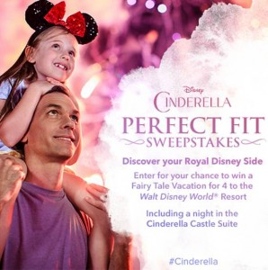 Win a Vacation To The Walt Disney World® Resort #Cinderella