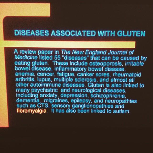 disease associated with gluten