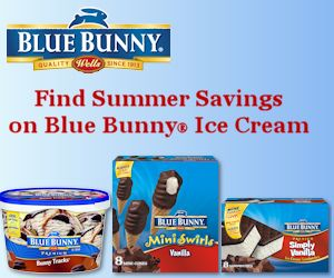 Blue Bunny Ice Cream Coupon