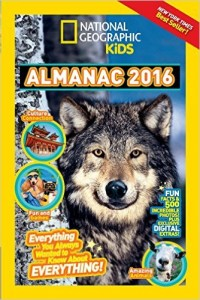 National Geographic Kids Almanac 2016 Edition! GIVEAWAY!