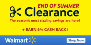 Walmart's Summer Clearance – TODAY ONLY