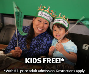 Beat the Heat at Medieval Times in Dallas, Kids are Free! #MTFan