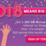 Get $3 when you sign up for Swagbucks in January (US)