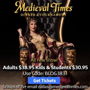 Medieval Times Spring Break Special!