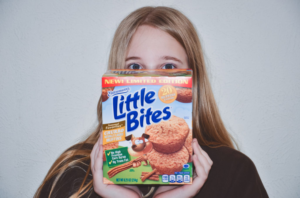 Little Bites Churro Muffins