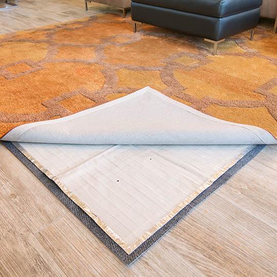 under rug heating